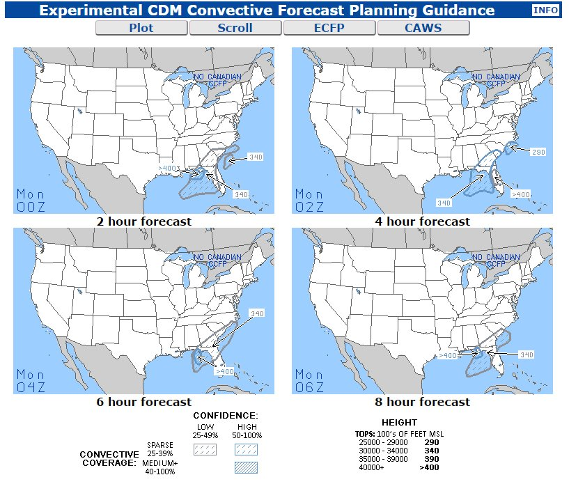 Aviation Weather Center - CCFP Forecast