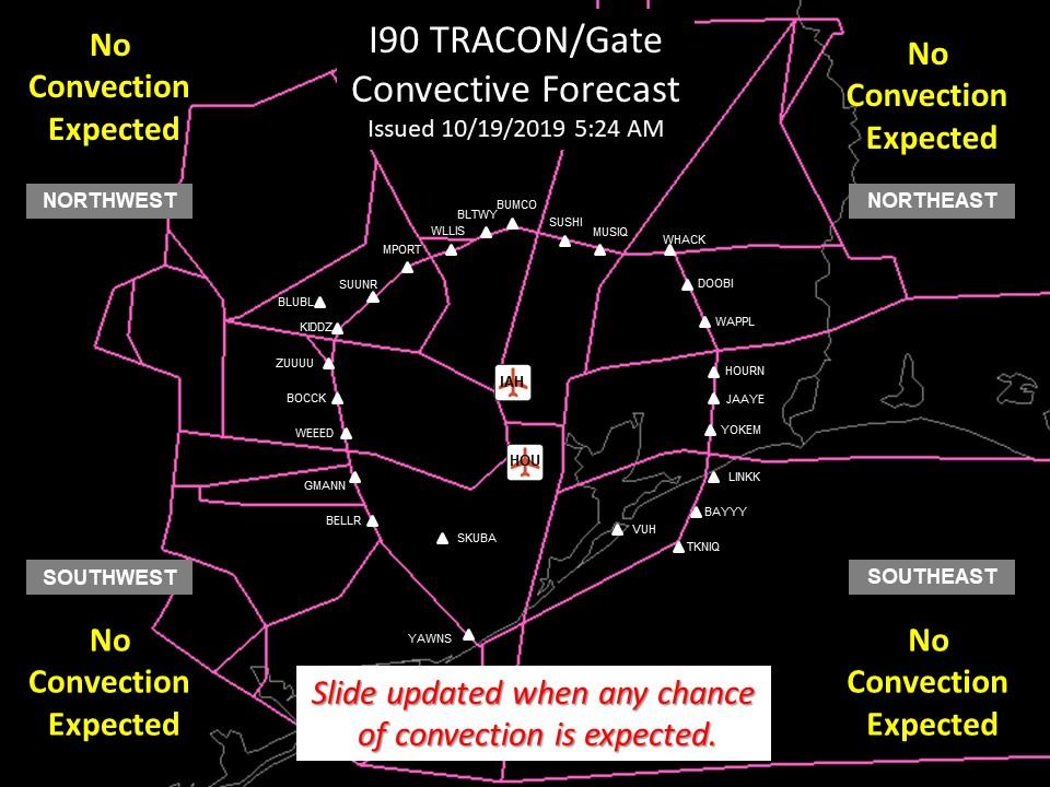 I-90 TRACON Forecast