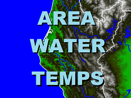Water Temperatures for NW California