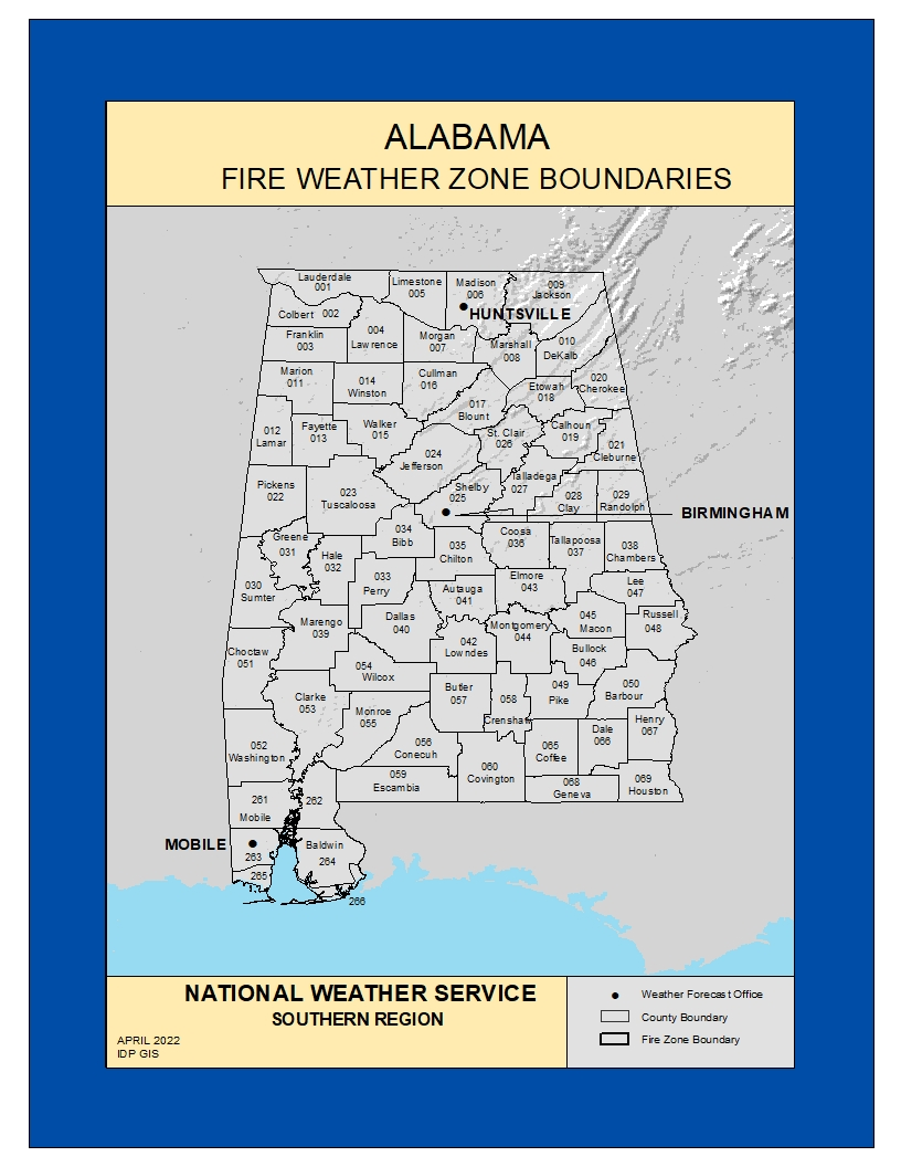 Fire Zone Maps