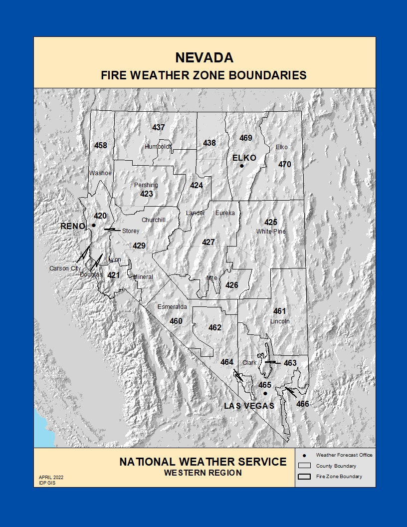 fire zone maps