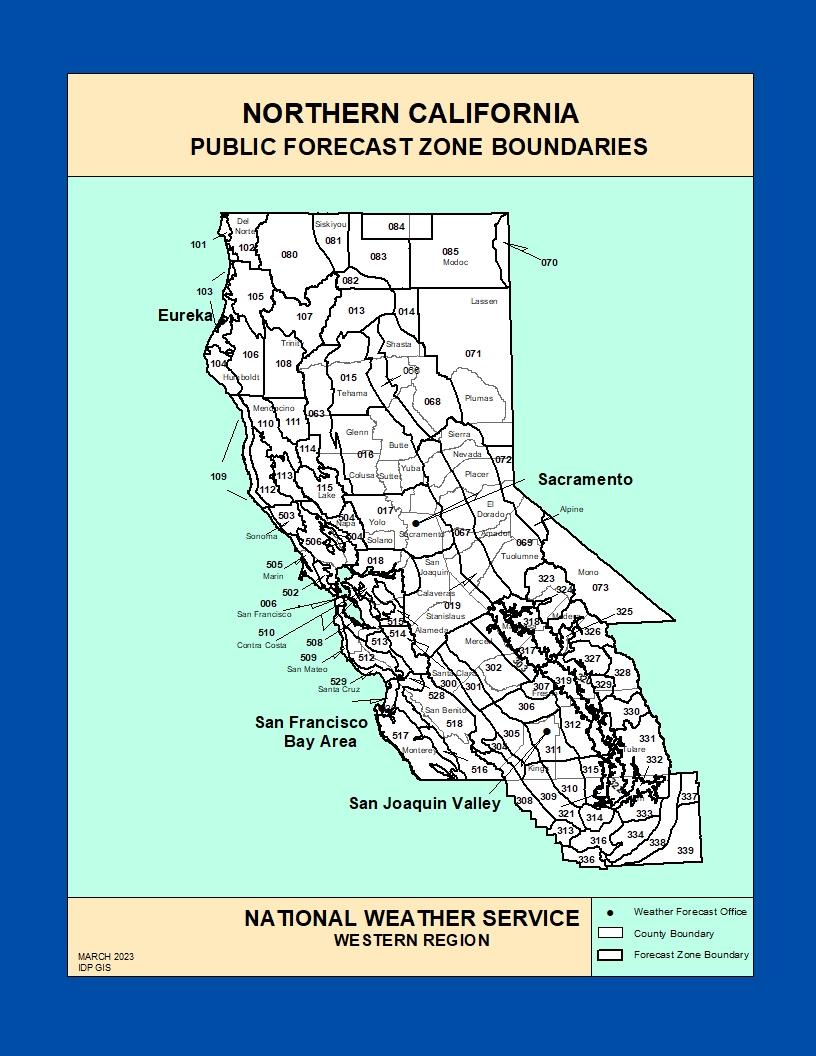 public zone maps