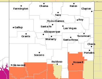 NWS Albuquerque Web Page