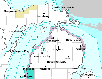 Map of Forecast Area