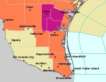 BRO Alerts Map