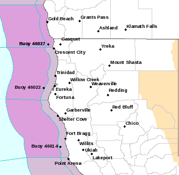 EKA Alerts Map