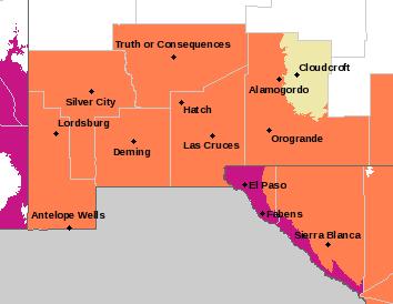NWS El Paso Web Page