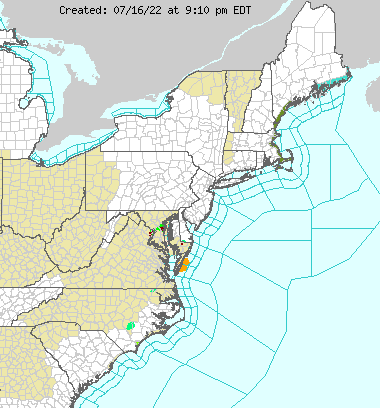 NORTHEAST U.S ADVISORIES