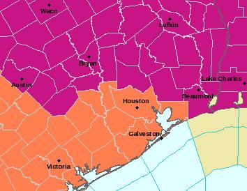 HGX Alerts Map