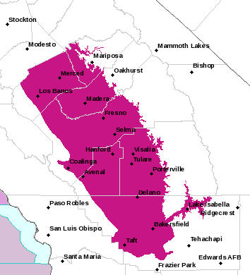 HNX Alerts Map