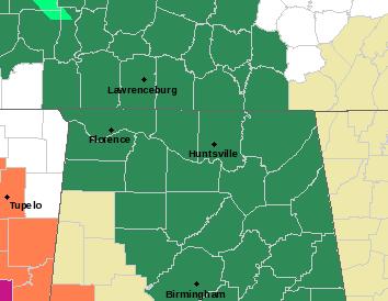 HUN Alerts Map