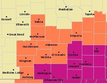 ICT Alerts Map
