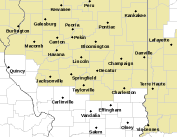 Central IL Watches & Warnings