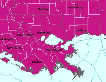 LIX Alerts Map
