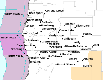 MFR Alerts Map