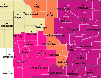 OUN Alerts Map