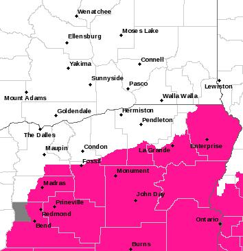 PDT Alerts Map