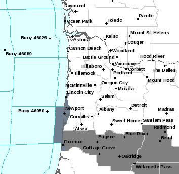 PQR Alerts Map