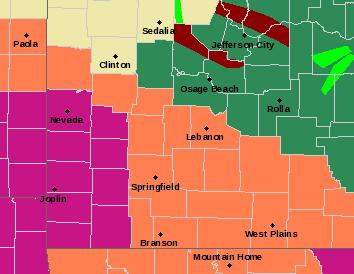 SGF Alerts Map