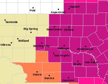 SJT Alerts Map