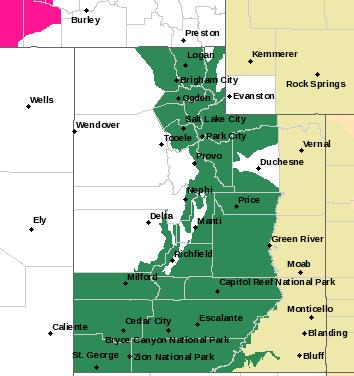 SLC Alerts Map