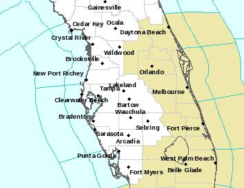 TBW Alerts Map