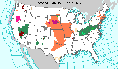 NWS Warnings and Special Weather Statements